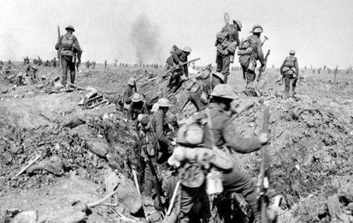 British Battles - World War 1